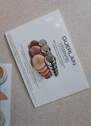 Набор пробников от бренда guerlain сыворотка тональный крем