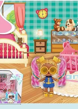 """Набор мебели """"Детская комната"""", в коробке, LK 1041 D"""