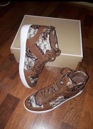 Трендовые кеды ботинки michael kors 8.5