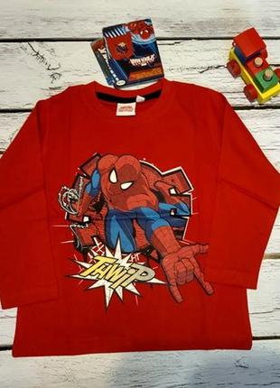 Лонгслив реглан кофта marvel дисней человек паук супергерой павук