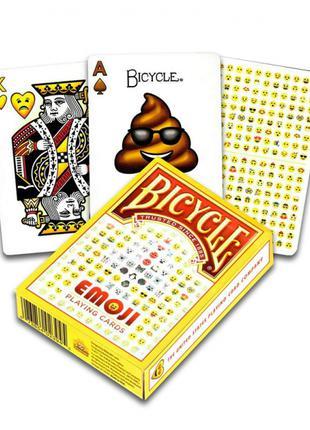 Bicycle Emoji - игральные карты со смайликами