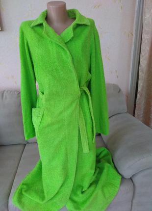 Махровый халат, размер 52-54