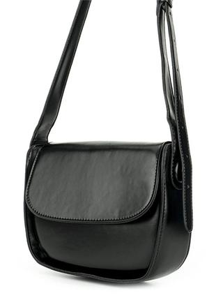 Женская Сумка Кросс-Боди из Искусственной Кожи (Y228-1) Черная