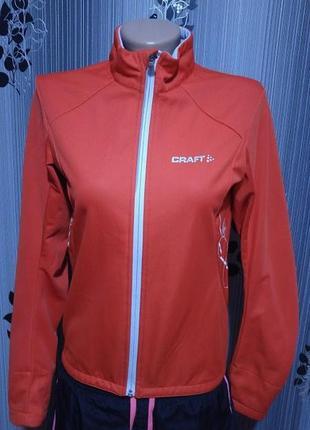 Softshell куртка для бега спорта вело craft