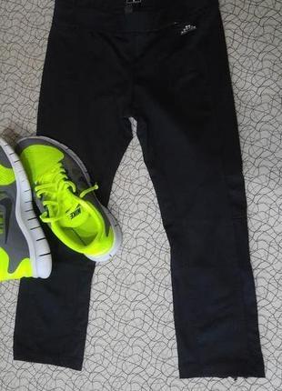 Лосины леггинсы спортивные штаны капри бриджи тайтсы h&m sports