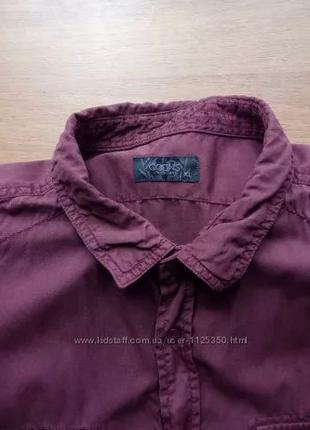 Рубашка Colin´s бордовая марсала XL