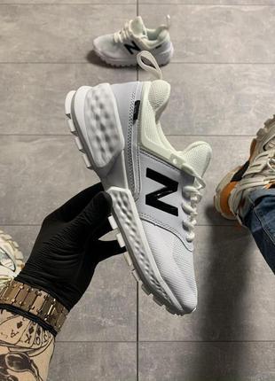 Стильные кроссовки 😍 new balance 574 white black 😍