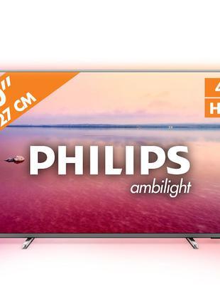 Телевізор Philips 50PUS6754 Smart TV Wi-Fi 4К/Телевизор Филипс 50