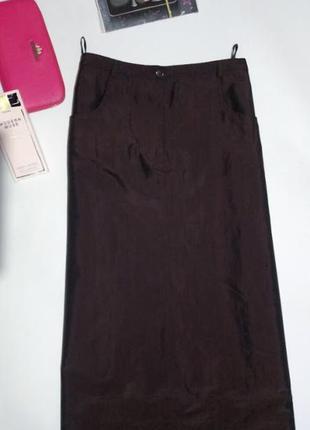 Длинная юбка из плотной ткани,на подкладке . authentic