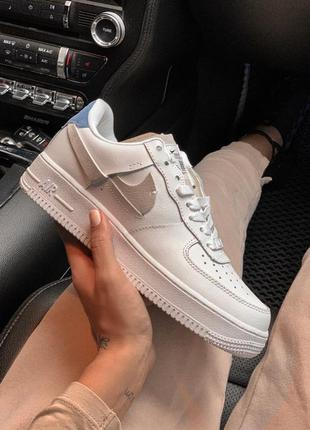 Шикарные кроссовки nike air force low white