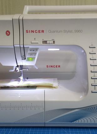 Современная швейная машинка Singer Quantum Stylist 9960
