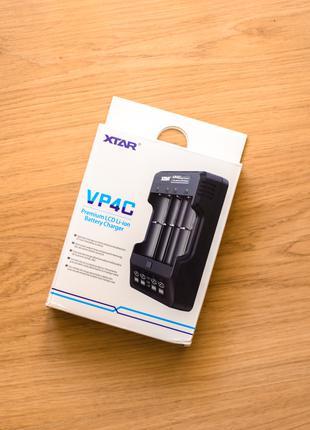 Автоматическая зарядка XTAR VP4C для 18650 и не только