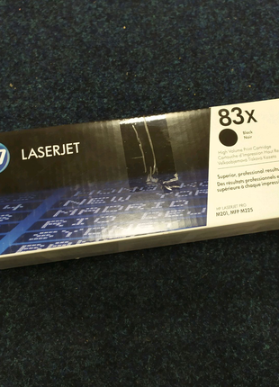 Картридж HP 83X Pro M201(CF283X) оригинал для принтера