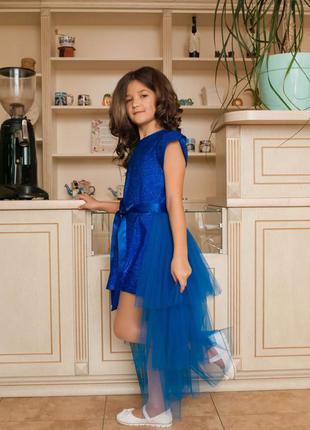 Нарядный комплект-платье и юбка-шлейф