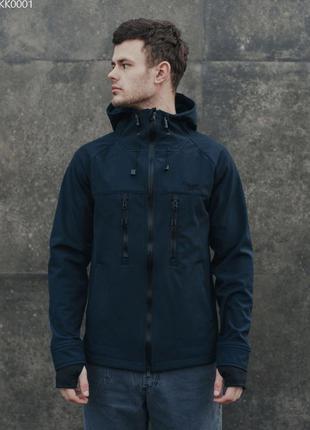 Куртка staff soft shell navy