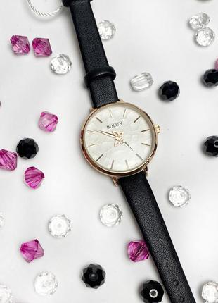 Стильные женские часы bolun,черные к.22207
