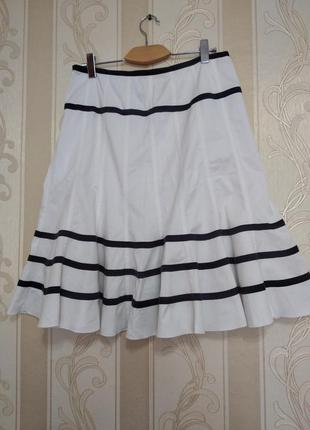 Котоновая стильная юбка 16-ти клинка. dolores