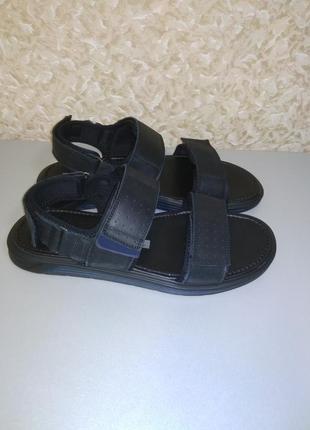 Мужские сандали из натуральной кожи!