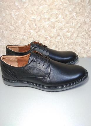 Мужские туфли  44 размер- натуральная кожа!