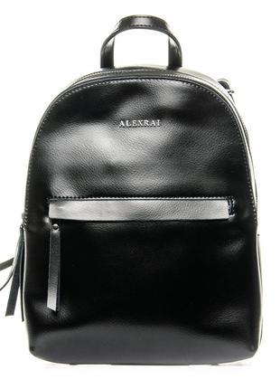 Рюкзак кожаный шкіряний портфель
