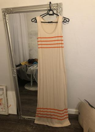 Платье майка в пол