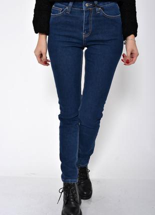 Женские джинсы на флисе