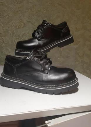 Детские демисезонные ботинки на мальчика туфли