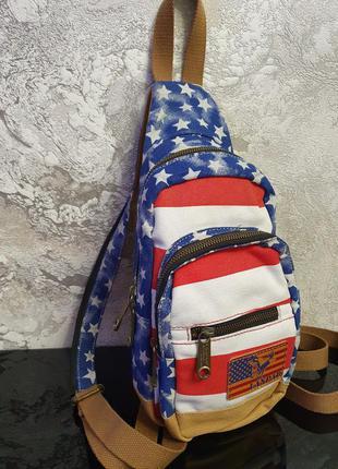 Стильный молодёжный рюкзак