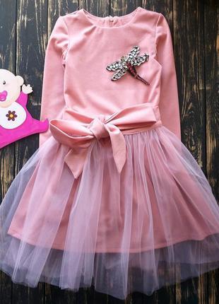 Платье+фатиновая юбка