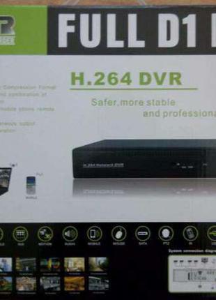 Регистратор видеорегистратор стационарный DVR на 4, 8, 16 камеры