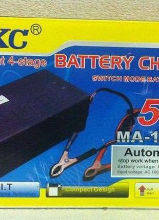 Зарядное автомобильное устройство для АКБ аккумулятора 12V 5A