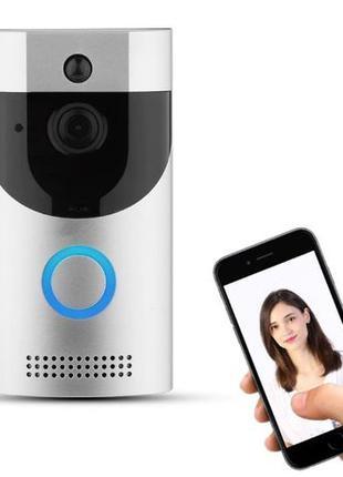 Видеодомофон WIFI 1080p Smart Doorbell управление смартфоном д...