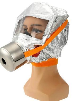 Противопожарная маска кислородная спасательная 30мин Fire mask