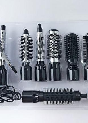 10 в 1 Стайлер фен для волос утюжок плойка Gemei GM 4833