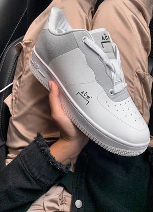 Шикарные кроссовки nike air force white