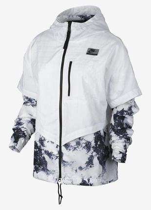 Новая ветровка nike белая куртка оригинал