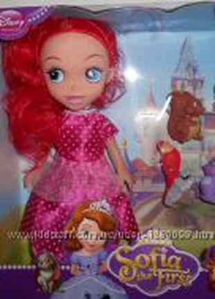 Кукла принцесса София Прекрасная,  с животными
