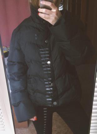 Дутая куртка чёрная 💔