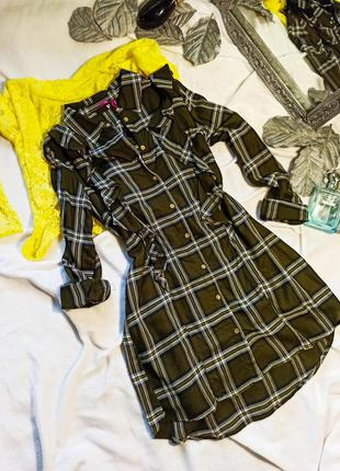 Туника платье весенняя рубашка