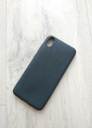 Xiaomi Redmi 7a чехол силиконовый черный