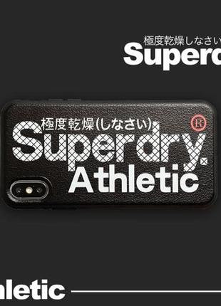 Чехол superdry на iphone 6/6s/7/8/7plus/8plus/x/xs/xmax