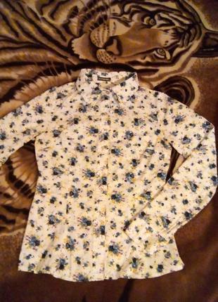 Блуза с принтом.