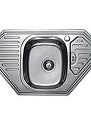 Мойка кухонная угловая, размер 95*50 см