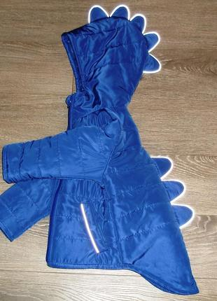Весенняя куртка дракоша, для мальчика