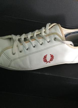 Кожаные мужские кроссовки fred perry на 43