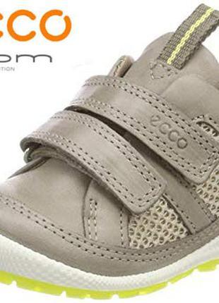 Кожаные ботинки экко ecco biom lite р.21,22 оригинал индонезия...