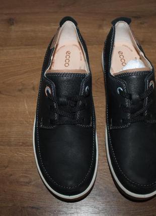 Кожаные ботинки ecco, 41 размер