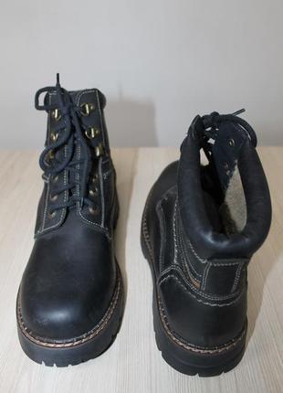 Зимние кожаные ботинки landrover, 40 размер