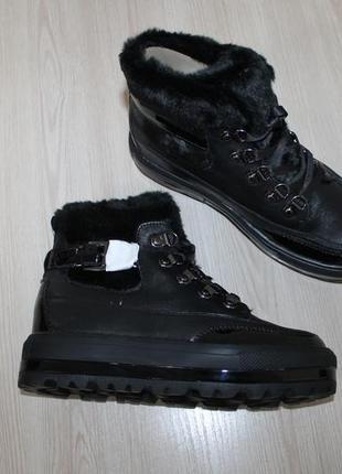 Немецкие зимние ботинки gerry weber lola, 37 размер 24 см