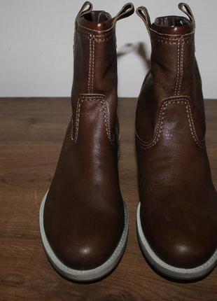Кожаные полусапоги, ботинки ecco saunter, 40 размер
